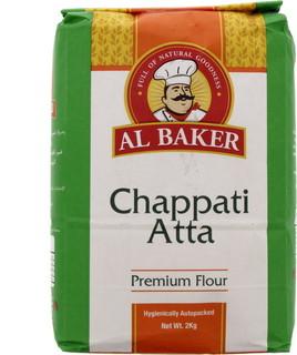 Al Baker Chappati Atta 2 Kg