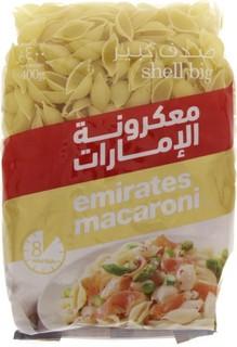 Emirates Macaroni Shell Big 400 Gm