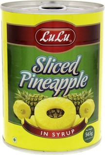 Lulu Sliced Pineapple In Syrup 565 Gm