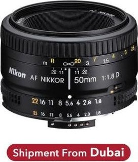 Nikon Nikor Lens AF Nikkor 50mm f 1.8D for Nikon DSLR Camera