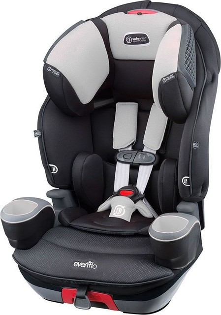 Evenflo SafeMax 3 In 1 Booster Car Seat Shiloh