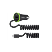 Belkin F8M890BT04 BOOST UP Universal Car Charger W Micro USB Cable Black