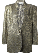 Gianfranco Ferré Pre-Owned Gianfranco Ferr Pre-Owned jacquard jacket and skirt suit