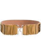 Fendi belt with FF logo