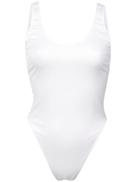 Fleur Du Mal scoop-neck bodysuit