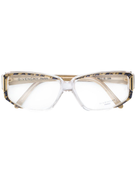 Givenchy Pre-Owned 1970s geometric frame glasses