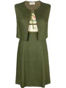 A.N.G.E.L.O. Vintage Cult embroidered floral detail dress
