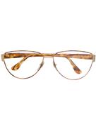 Fendi Pre-Owned oval frames glasses