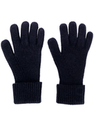 N.Peal ribbed knitted gloves