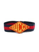 Gucci Kids logo plaque belt
