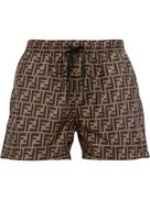 Fendi FF motif swim shorts