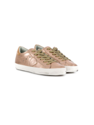Philippe Model Kids metal lace-up sneakers