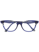 Face À Face Face Face cat-eye frame glasses