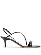 Gianvito Rossi Patent Leather Strappy Sandals