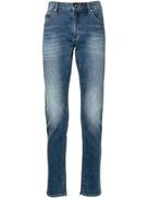 Emporio Armani faded slim jeans