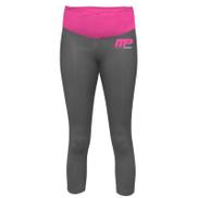 MusclePharm Sportswear Yoga Pants - Black