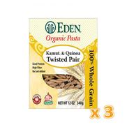 EDEN - Organic Twisted Pair Gemelli 3 X 340 gm 3 X 340 gm