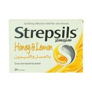 Strepsils Honey & Lemon 24 Lozenges