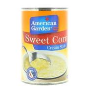 American Garden Sweet Corn Cream Style 418g