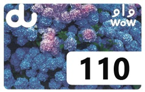 Du Recharge Card 110 AED 110AED