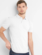 Gap All Day Pique Polo Shirt