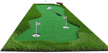 MNJKL Golf Putting Mats for Home Use, Training Equipment Mat-Golf Training Mat Synthetic Fake Grass Hitting Mats for Indoor Outdoor,100x300cm