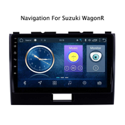 DAETNG Wifi Car Stereo GPS Navigation 9 Inch HD Bluetooth Touch Screen DVD Player Android 8.1 for Suzuki WagonR 2010-2018, Steering Wheel Control, Mirror Headrest,4G+wifi:1+16g