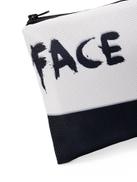 Two Tone Slogan Print Cosmetic Bag