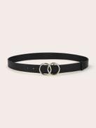 Men Double O-ring Belt