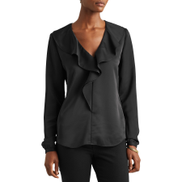 Lauren Ralph Lauren Belvirn Women's Shirt - Polo Black