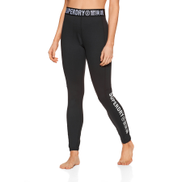 Superdry Carbon Womens Base Layer Leggings - Black