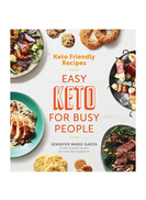 Houghton Mifflin Keto Friendly Recipes: Easy for Busy People