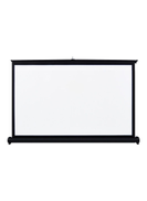 Tabletop Projector Screen V8303-2-V White Black
