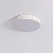 مصباح سقف بإضاءة LED من Lighfd مثبت على شكل دائري 18 وات تركيبات حديثة لغرفة المعيشة والمطبخ والمطبخ والمطبخ وغرفة النوم والشرفة وضوء النهار الأبيض مقاس دائري: 40 سم