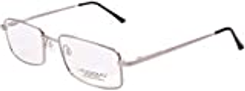 Lievissimo Rectangular Unisex Silver Eyeglasses