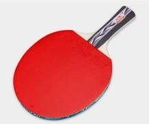 GYHS Table Tennis Racket, Genuine Double-sided Anti-adhesive Racket, 2 Packs send: 3 Balls + Bag Edition : Pen-hold