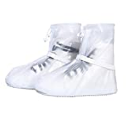 Other Anti-Slip White Shoes Cover Unisex Waterproof Protector Shoes Boot Cover Rain Shoe Covers High-Top Rainy Day Outdoor Reusable Shoes Cases
