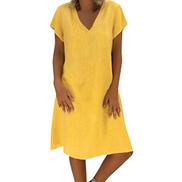 foowni Women Casual Lace Sleeveless Beach Short Dress Tassel Mini Dress