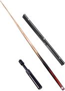 MYPNB Snooker 57 Inch 17.5-18.5 Oz Ash Wood Billiard Pool Cue,9.5-10mm Snooker Cue,Packed in Aluminium Cue Case C 145cm Color : C, Size : 145cm