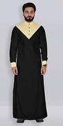 Shannoh.com Men's Designer Islamic Branded Latest Long Thobe