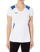 ASICS Set jersey, White Royal, Large
