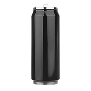 KSUVR 350ml Stainless Steel Insulated thermos Water Bottle Vacuum Flask coffee mug Large Capacity Thermal Mug Coffee Coke Leak-proof