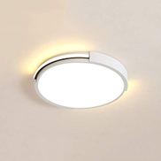 Lighfd LED Disk Light Ceiling Lamp 24W 15.7Inch 36W 19.6Inch Round Circle Modern Fixture for Living Bathroom Kitchen Bedroom Office Balcony Thin Bright White Daylight Size : 50cm