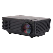 CHENCHUAN-AE CHENCHUAN Smart Theater Projector RD-805 800LM 800x480 Home Theater LED Projector with Remote Controller, Support HDMI, VGA, AV, USB InterfacesBlack Video Projector Color : Black