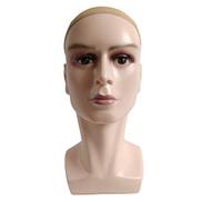 Rachael Mannequin Head Bracket Shop Window Wig Hat Glasses Dummy Head Male Abstract Art Model Head 37Cm Complexion