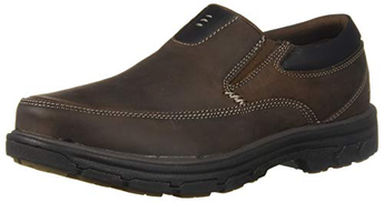 Skechers Men's Segment-The Search Loafer, Dkbr, 9 Wide