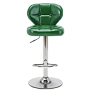 SMLZV Bar stool high end bar stool cafe chair swivel chair front desk stool jewellery counter chair adjustable height 360 rotation stylish wild