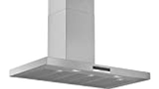 Bosch 90 cm Wall mounted Cooker Hood, Stainless steel - DWB97DM50B, 1 Year Warranty