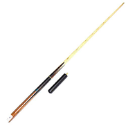 ZHTY Pool Cues, 57inch Handmade 3 4 Joint Snooker Rod Ash Three-section with EXTENSIONS indoor