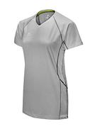 Mizuno Elite 9 Newport Short Sleeve Jersey, Royal White, X-Large
